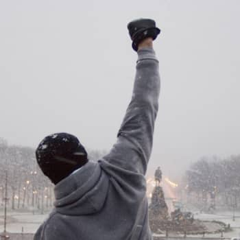 Tre ronder med Rocky Balboa