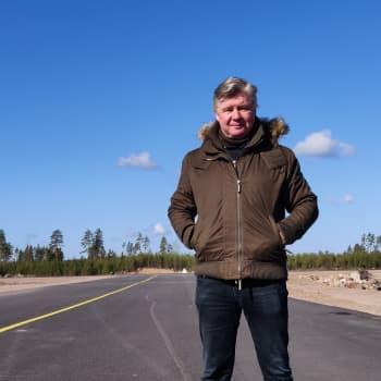 Stora förhoppningar för Pyttis flygfält