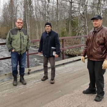 Fiskare vill ha fiskväg i Esse å
