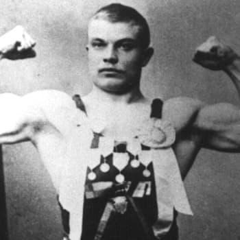 Verner Weckman - ensimmäinen suomalainen olympiavoittaja