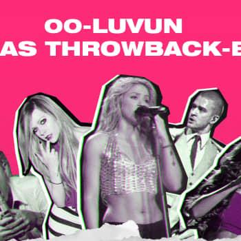 YleX Throwbackin seitsemäntuntisessa vappulähetyksessä selviää 00-luvun parhaiden biisien Top 100 -listaus