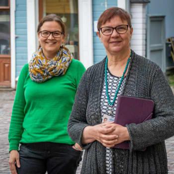 """Fredagskaffe med Malin Lönnroth och Christel Liljeström: """"Frisk luft och kall öl"""""""