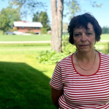 Anna-Lena Sjöström är nyutexaminerad närvårdare
