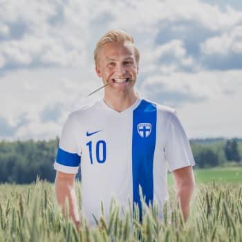 David Sundin drar jakthistorier från Åland för Janne Grönroos