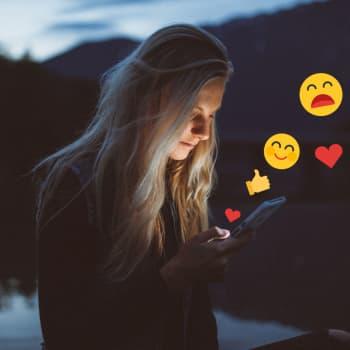 Sociala medier påverkar ungas välmående