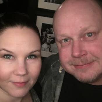 Riku Suokas ja Johanna Tohni
