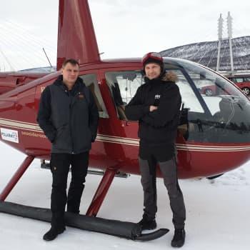 Vispilänkauppaa linjoilla- sähköverkot tarkastetaan helikopterilla