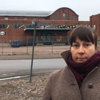 Kotkan Hovinsaari on täynnä kerroksellista rakennuskantaa