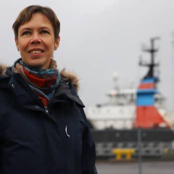 """Mareena Viljanen: """"Naiset pärjäävät aivan hyvin nykypäivän merenkulussa"""""""