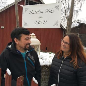 Uutelan tilaa isännöi nyt 17. sukupolvi - 480 vuoden aikana isäntiä on syytetty noidiksi ja lähetetty kylän puhemiehinä Ruotsin kuninkaan luokse