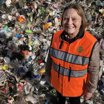 """Jätehuollon pioneeri opetti lahtelaiset kierrättämään - """"Olihan niitä, jotka pitivät sitä viherhömpötyksenä"""""""
