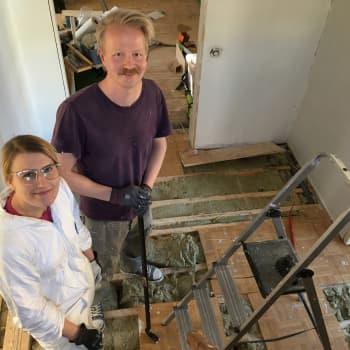 Johannan ja Kallen jättiurakka: Omakotitalo kuoritaan kuin sipuli