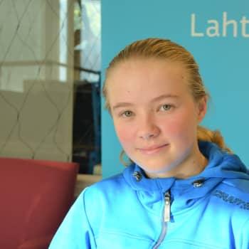 Lahtelainen Elna Rikkinen on ikäluokkansa triathlon-mestari