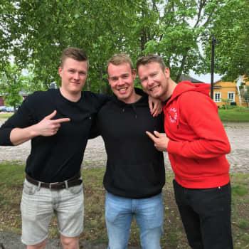 Nuoret miehet toteuttivat unelmansa ja hiihtivät halki Grönlannin