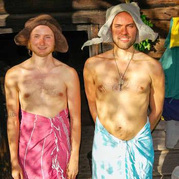 Tamperelaisystävykset Juha Kumara ja Matti Kemi taittoivat 700 pyöräkilometriä saunoja etsien
