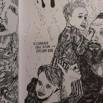 Eropäiväkirjan kirjoittanut Lauri Ahtinen: Isyys viihdytysautomaattina on uusi normaali