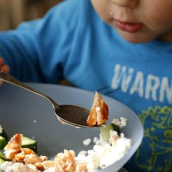 Lasten ruokakasvatus: miltä ruoka tuntuu, kuulostaa ja näkyy?