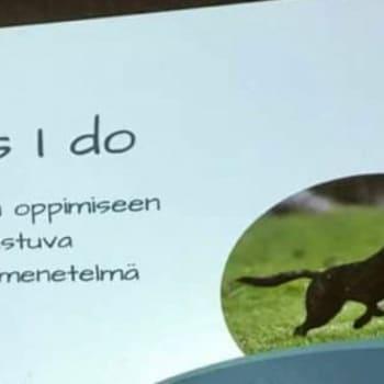 Radio Suomi Mikkeli: Koira oppii matkimalla - Do as I do -menetelmässä ihminen näyttää koiralle mitä pitää tehdä