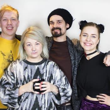 YleX Etusivu: Vieraana Hanna Räty ja Teppo Vapaus: Punk-skene asemoituu yhteiskuntavastaiseksi mutta ei silti ole irrallaan sen toimintatavoista