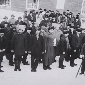 Sisällissota 1918 - punaiset muistot: Pasifisti Oulun poliisitarkastajana (Yrjö Kallinen, Oulu)