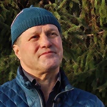 Metsäradio.: Kirjailija Jouni Tossavaisen kotikuusi