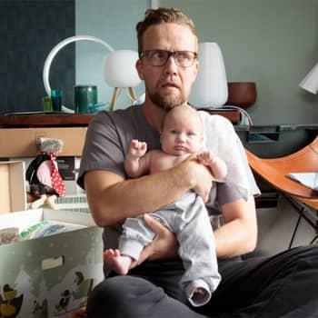 Puheen Aamu: Kolmen lapsen isä Petteri Summanen heittäytyy yksinhuoltajan rooliin Yösyöttö-elokuvassa