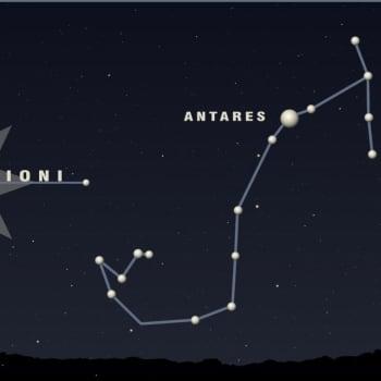 Kuukauden tähtitaivas: Skorpioni pilkistää etelätaivaalta - toukokuun tähtitaivas