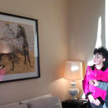 Kultakuume: Jean-Louis Sauvat toi hevoset Ranskan suurlähetystöön