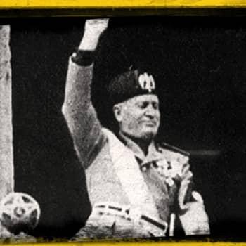 Musso italiaano Benito Mussolini