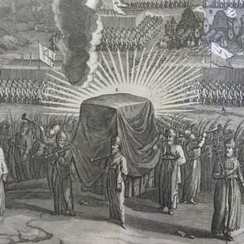 Liiton arkki ja Daavidin harppu