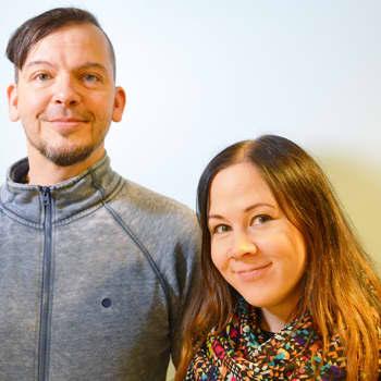 """Puheen Iltapäivä: Elviira ja Rake: """"Tämä koko projekti on ollut yksi iso riski"""""""