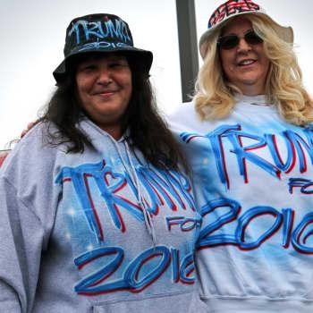 Trump ja naiskannattajat