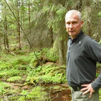 Metsäradio.: Lähdepuron suojelualue