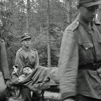 Sotilaiden äänet: Sotilaat kertovat: korpraali Pentti Lehtinen JR 48