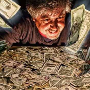 Ajankohtainen Ykkönen: Tekeekö raha itsekkääksi?