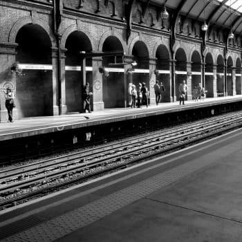 Iltakävelyllä Lontoossa - Lontoon Metro