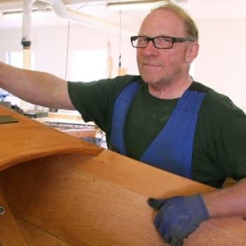 Metsäradio.: Tenon perinteinen puuvene