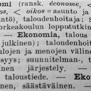 Talouden termejä