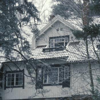 Jean ja Aino Sibeliuksen kotia kutsuttiin Ainolaksi