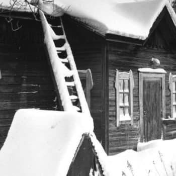 Sattuipa Lapissa: Rahtimies sadan vuoden takaa