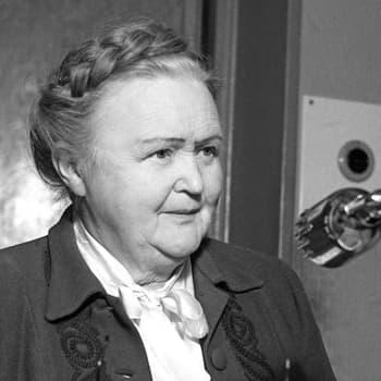 Pääjohtaja Hella Wuolijoen virkaanastujaispuhe (1945)