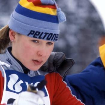 Välähdyksiä naisten 5 km:n kilpailusta (p)
