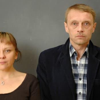 Leena Lander ja Hannu Raittila haastateltavina