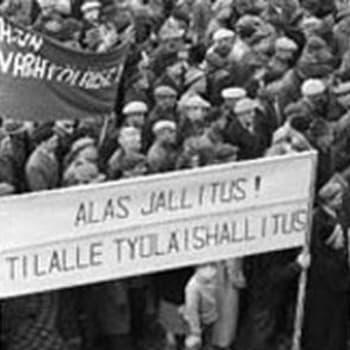 Seppo Väisäsen ohjelma vuoden 1956 yleislakosta