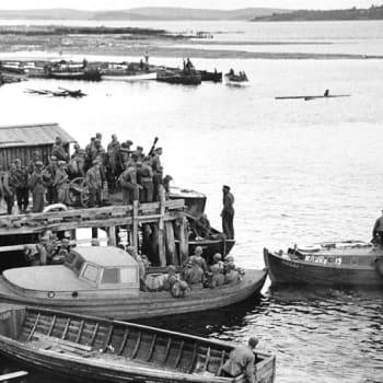 Uppmjukning av motti i Karelen, sommaren 1941