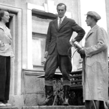 Ministeri von Bornin puhe jatkosodan päättymisestä (1944)
