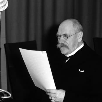 Presidentti P. E. Svinhufvudin uudenvuodenpuhe