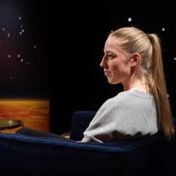 Daniel Olins gäst är fotbollsspelaren Linda Sällström