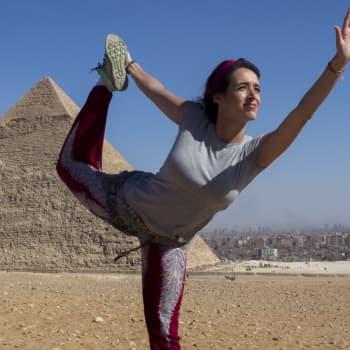 Magdan juurimatkalla Egyptissä