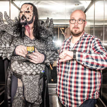 """Lordi on lempeä diktaattori: """"Päätän miltä bändi kuulostaa ja näyttää"""""""